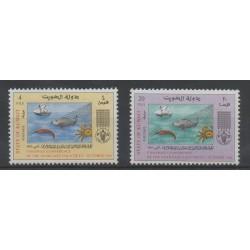 Kuwait - 1966- Nb 323/324 - Environment