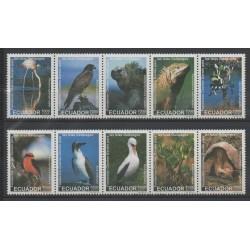 Ecuador - 1999- Nb 1445/1454 - Flora