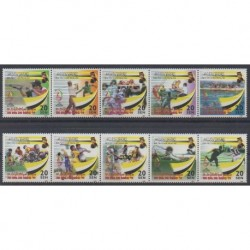 Brunei - 1999 - Nb 551/560 - Various sports