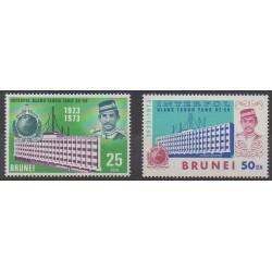 Brunei - 1973 - Nb 184/185