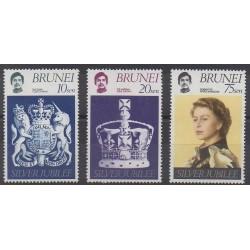 Brunei - 1977 - Nb 233/235 - Royalty