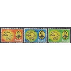 Brunei - 1974 - Nb 208/210 - Postal Service