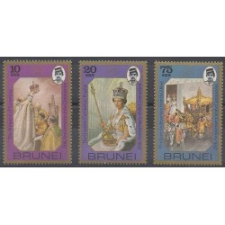 Brunei - 1978 - Nb 236/238 - Royalty