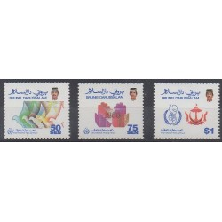 Brunei - 1986 - Nb 359/361