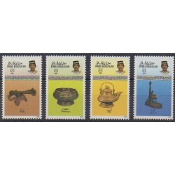 Brunei - 1987 - Nb 365/368 - Craft