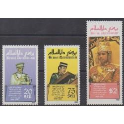 Brunei - 1988 - Nb 398/400