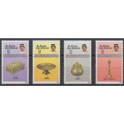 Brunei - 1988 - Nb 394/397 - Craft