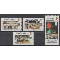 Brunei - 1989 - Nb 409/412
