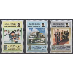 Brunei - 1995 - Nb 494/496