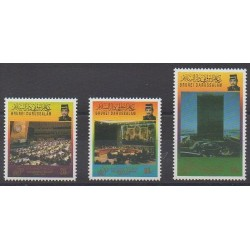 Brunei - 1995 - No 491/493 - Nations unies