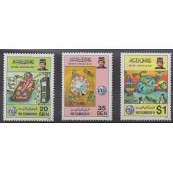 Brunei - 1996 - Nb 500/502 - Telecommunications