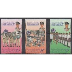 Brunei - 1996 - No 497/499 - Histoire militaire