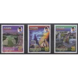 Brunei - 1999 - Nb 548/550