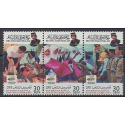 Brunei - 2001 - Nb 601/603 - Scouts
