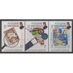 Brunei - 2004 - Nb 640/642 - Philately