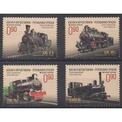 Bosnia and Herzegovina Serbian Republic - 2013 - Nb 545/548 - Trains