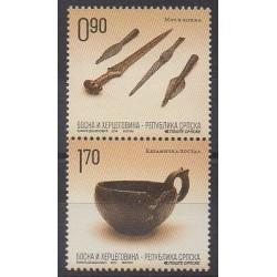 Bosnia and Herzegovina Serbian Republic - 2014 - Nb 595/596 - Craft