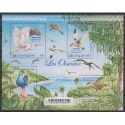 Wallis et Futuna - Blocs et feuillets - 2021 - No BF Oiseaux