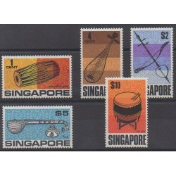 Singapore - 1969 - Nb 103/107 - Music