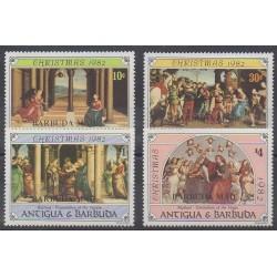 Barbuda - 1982 - No 607/610 - Noël