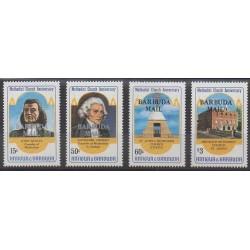 Barbuda - 1983 - Nb 674/677 - Religion