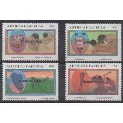 Barbuda - 1985 - Nb 770/773 - Craft