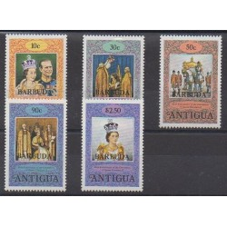Barbuda - 1978 - Nb 385/389 - Royalty