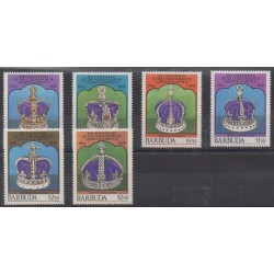 Barbuda - 1978 - Nb 390/395 - Royalty