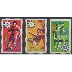 Barbuda - 1978 - Nb 396/398 - Soccer World Cup