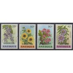 Barbuda - 1978 - Nb 412/415 - Flowers