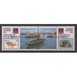Barbuda - 1995 - Nb 1445/1446 - Exhibition - Boats