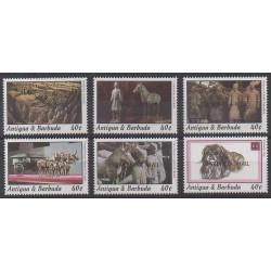 Barbuda - 1995 - Nb 1439/1444 - Art
