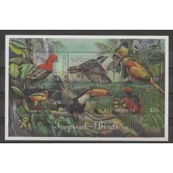 Liberia - 2000- No 2579/2584 - Oiseaux