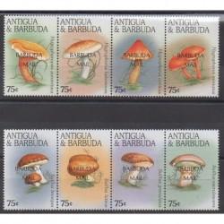 Barbuda - 1997 - Nb 1703/1710 - Mushrooms