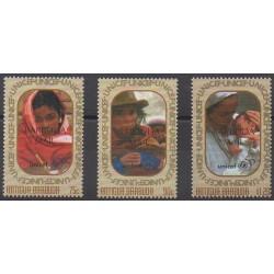 Barbuda - 1998 - Nb 1796/1798 - Childhood