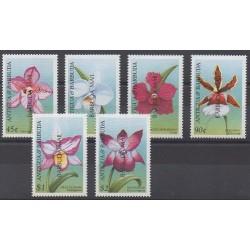 Barbuda - 1999 - Nb 1884/1889 - Orchids