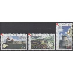 Croatia - 2003 - Nb 614/616 - Castles