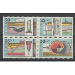East Germany (GDR) - 1980- Nb 2216/2219 - Sciences