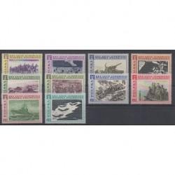 Poland - 1968 - Nb 1722/1731 - Military history