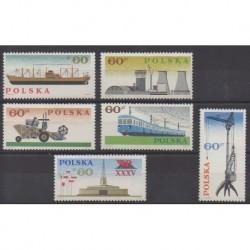 Poland - 1966 - Nb 1516/1521
