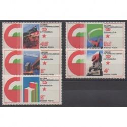 Hungary - 1975 - Nb 2432/2436 - Second World War