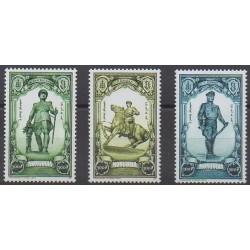 Mongolie - 2001 - No 2536/2538 - Histoire militaire