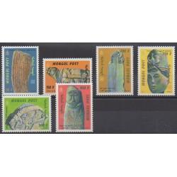 Mongolia - 1999 - Nb 2414/2419 - Art