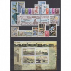 Saint-Pierre et Miquelon - Complete year - 2009 - Nb 939/965 - BF14