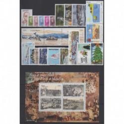 Saint-Pierre et Miquelon - Complete year - 2010 - Nb 966/990 - BF15