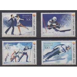 Biélorussie - 2002 - No 407/410 - Jeux olympiques d'hiver