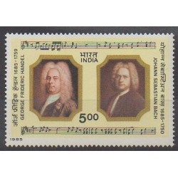 India - 1985 - Nb 859 - Music