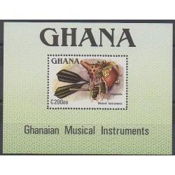 Ghana - 1987 - Nb BF128 - Music