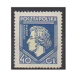 Poland - 1927 - Nb 331 - Music - Mint hinged