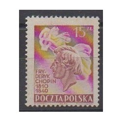 Poland - 1949 - Nb 562 - Music - Mint hinged